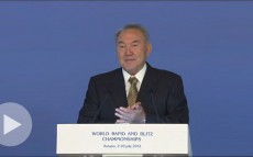 Speech of the President of the Republic of Kazakhstan Nursultan Nazarbayev at the Opening Ceremony of Official World Blitz and Rapid Chess Championships